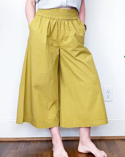 Mustard Betty Pants