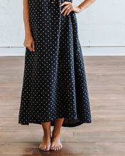 Load image into Gallery viewer, Black Hash Birdie Maxi Dress
