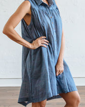 Load image into Gallery viewer, Chambray Birdie Dress