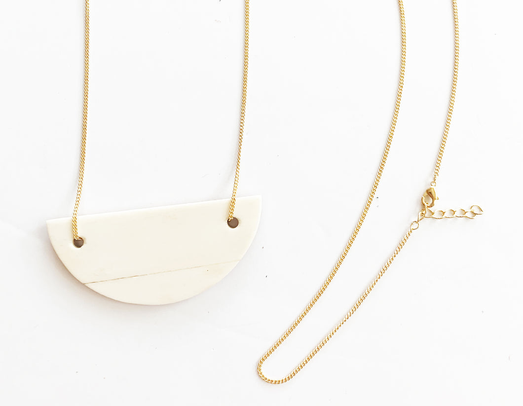 Demi Circle Necklace