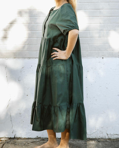 Emma Evergreen Maxi Dress