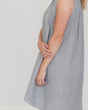 Load image into Gallery viewer, Grey Dot Birdie Dress