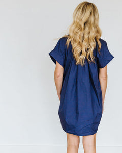 Navy Mae Dress