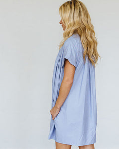 Blue Stripe Mae Dress