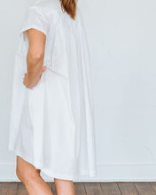 Load image into Gallery viewer, White Short Sleeve Birdie Dress