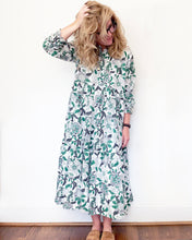 Load image into Gallery viewer, Zoe Sage Maxi Dress