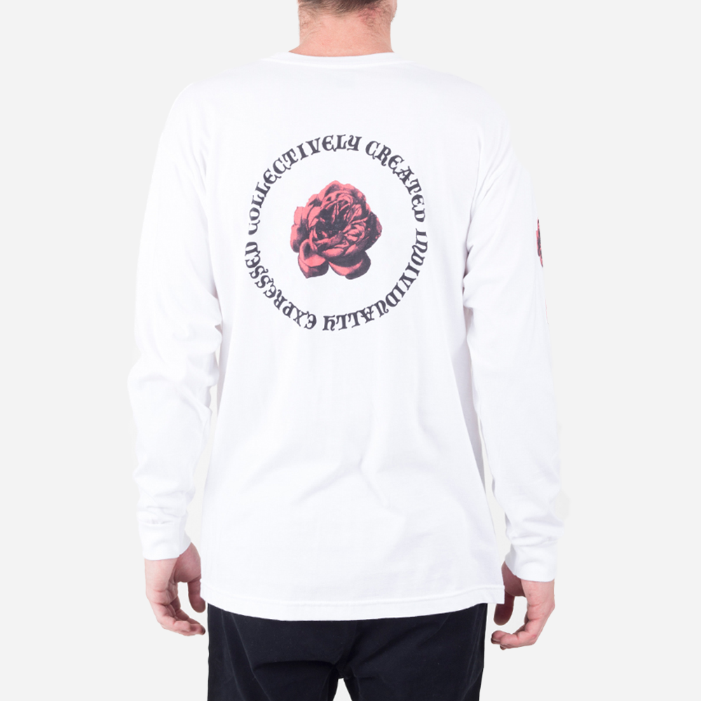 Rose Bud Long Sleeve Tee
