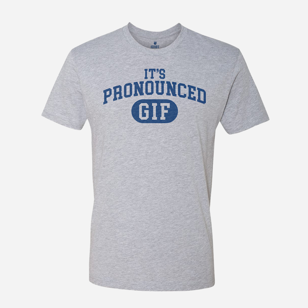 It's Pronounced GIF - Hard G