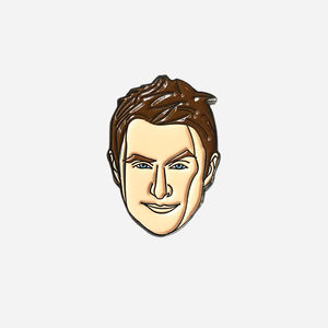 Chris Hardwick Enamel Pin