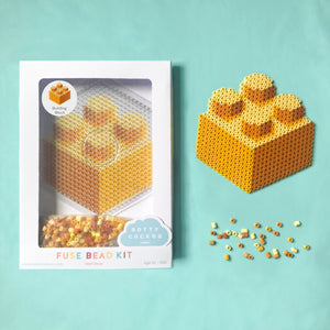 Building Block Fuse Bead Kit - Wall Decor