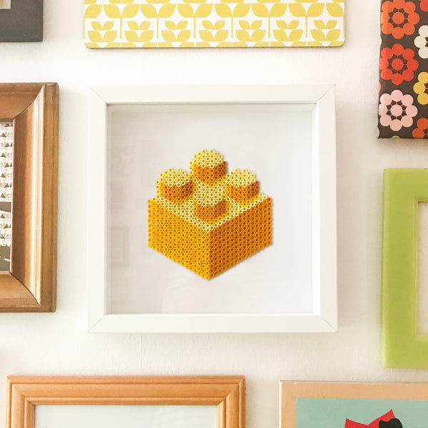 Building Block Wall Decor