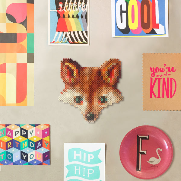 Fox Wall Decor Fuse Bead Kit