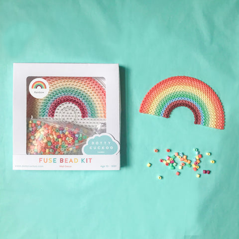 Rainbow Wall Decor Fuse Bead Kit