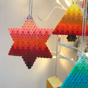 Coral Star Hanging Decoration