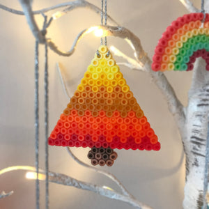 Yellow Tree Hanging Decoration