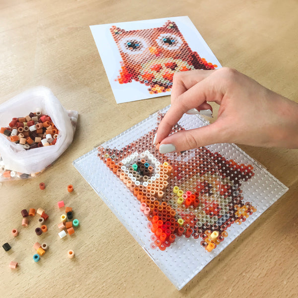 Owl Wall Decor Fuse Bead Kit