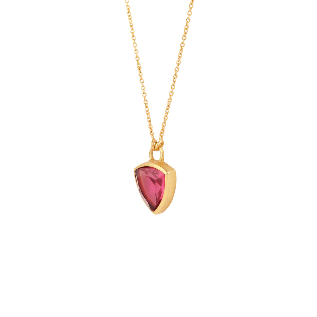 Maka Necklace - Ruby Corundum