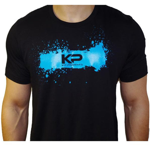 KP Pigments Logo T- Shirt Black