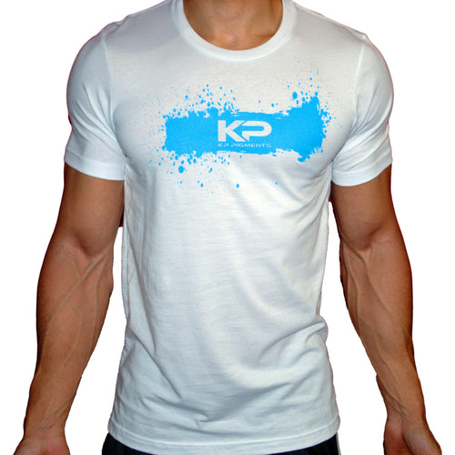 KP Pigments Logo T- Shirt White