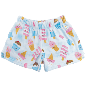 ICE CREAM TREATS PLUSH SHORTS