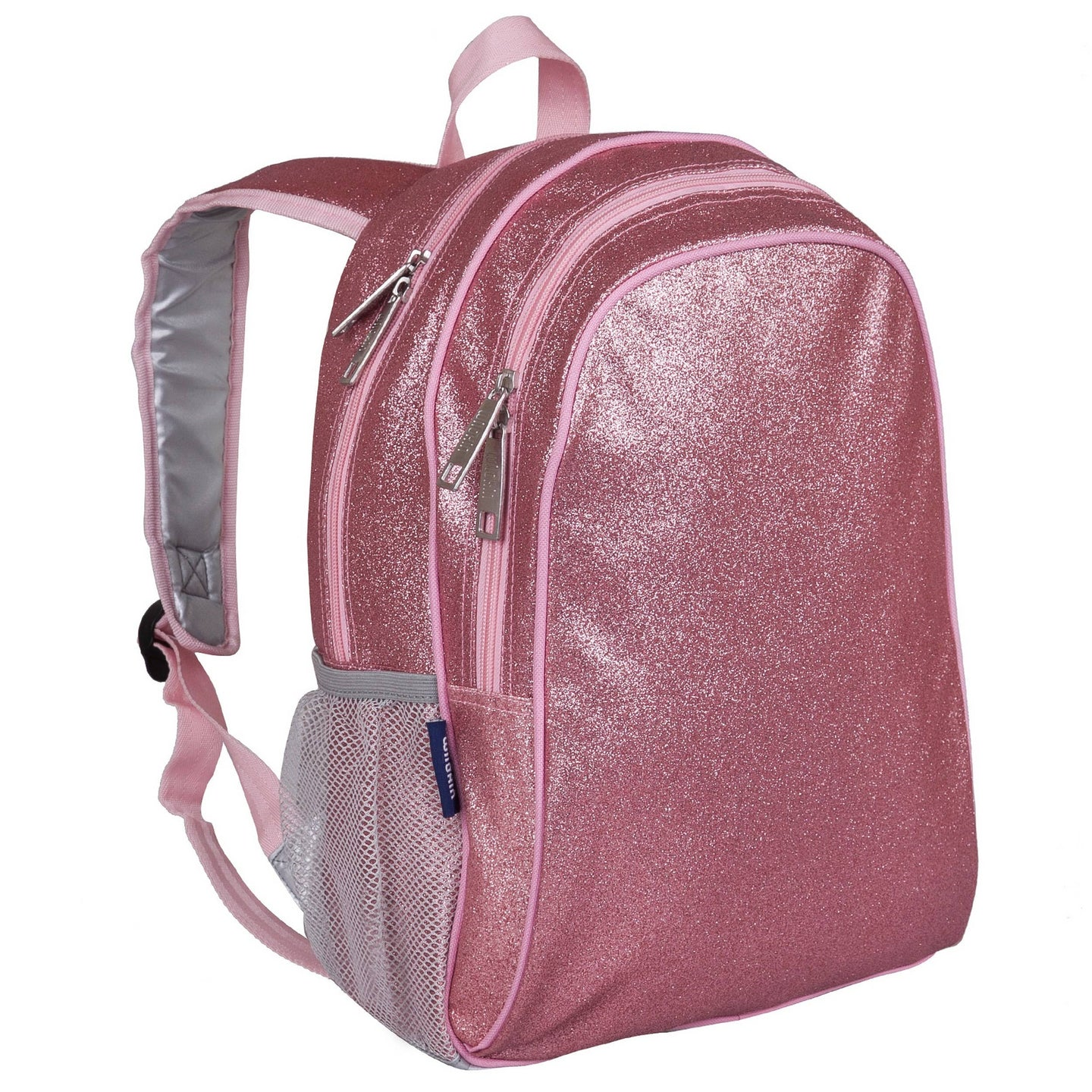 Pink Glitter Backpack - 15 Inch