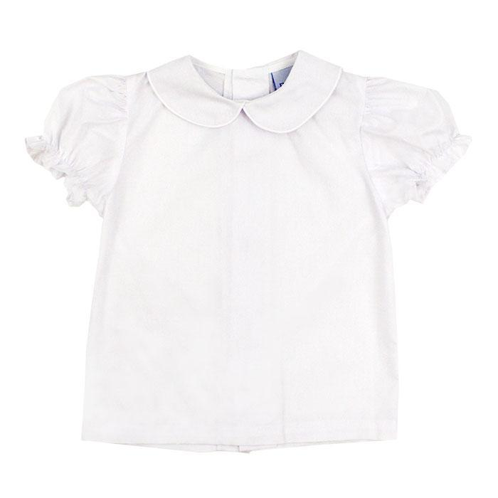 Toddler Girls Button Back Shirt
