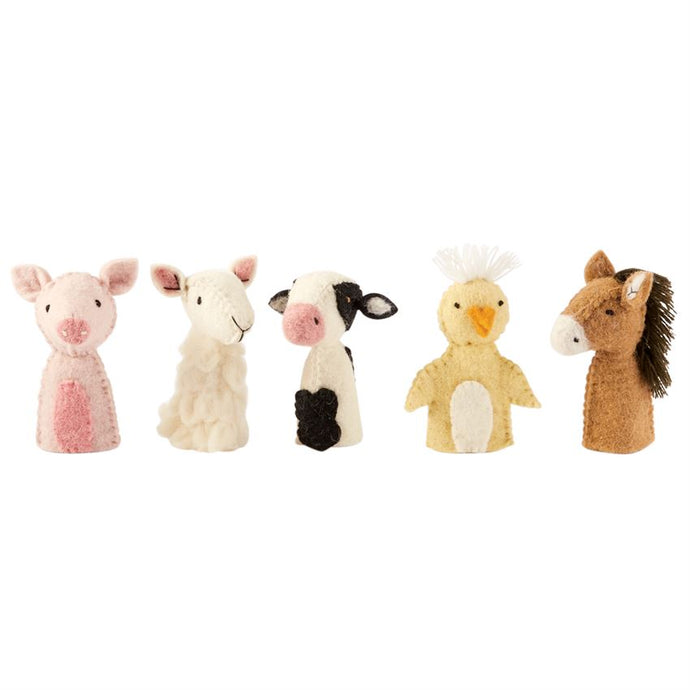 Barnyard Friends Finger Puppets