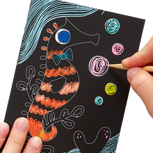 Load image into Gallery viewer, Friendly Fish Scratch & Scribble
