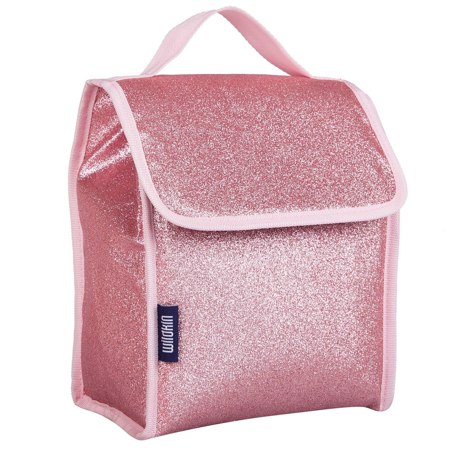 Pink Glitter Lunch Bag