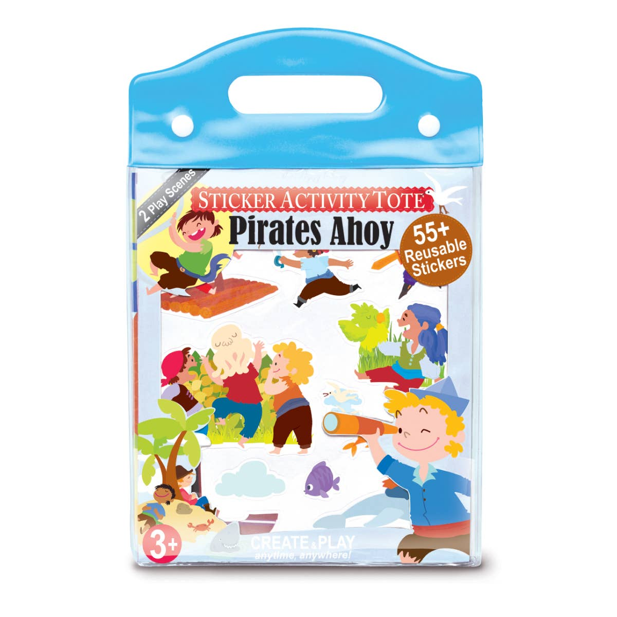 Pirates Ahoy Sticker Activity Tote