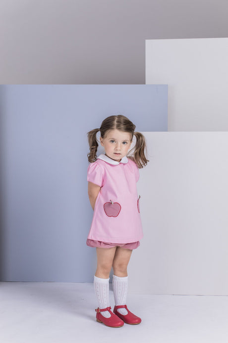 Toddler Apple Girl Set