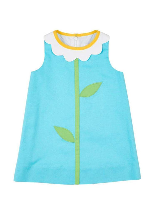 Toddler Finewale Flower Collar Dress