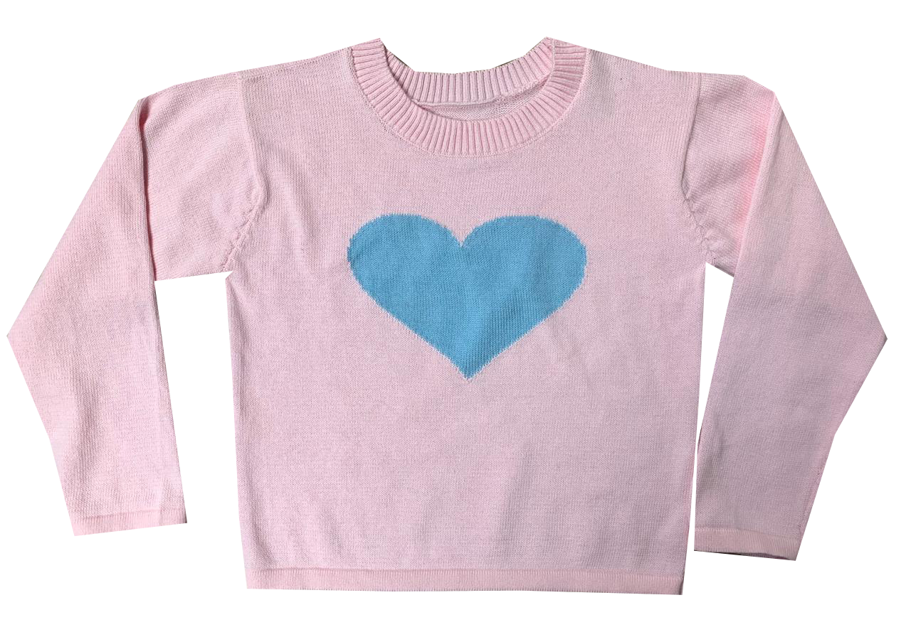 Blue Heart All Weather Sweater
