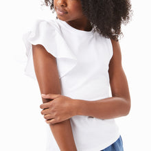Load image into Gallery viewer, Tween Girl Asymmetrical Top