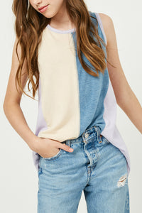 Blue Stripe Tank