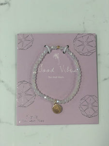 Good Vibes Crystal Bracelet