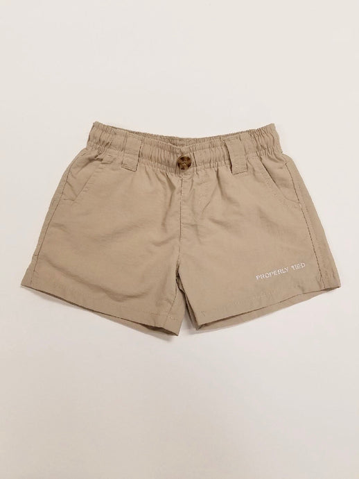 Tween Khaki Mallard Short