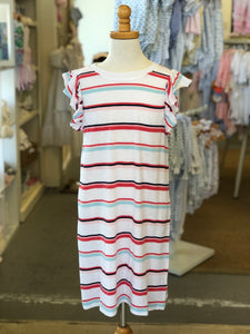 Tween Girl Multi Stripe Dress