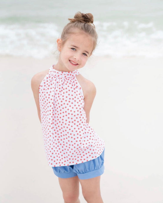 Toddler Girl Mia Star Bloomer Set
