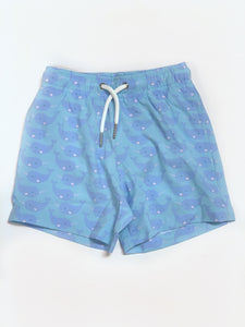 Blue Whale Swim Trunks