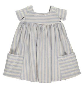 Sky Blue Toddler Girl Rylie Dress