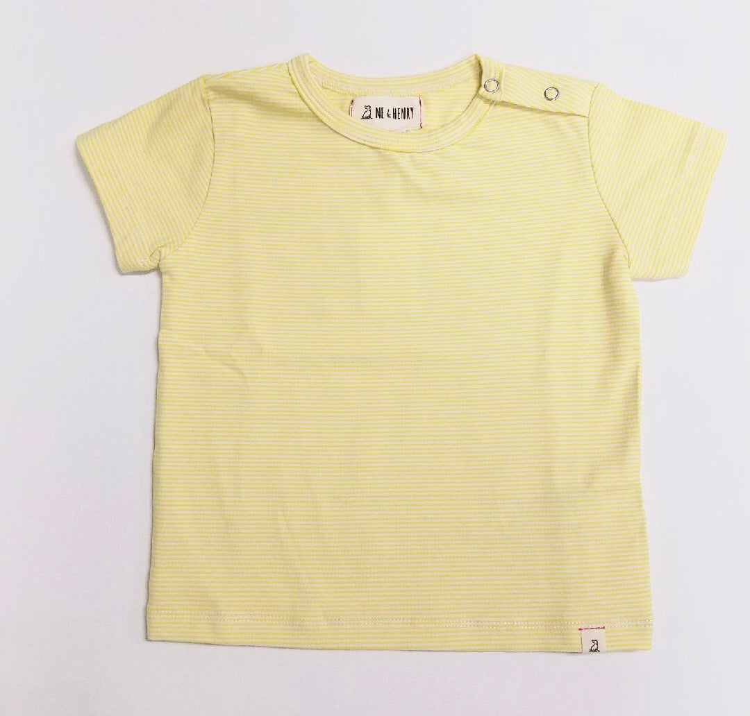 Yellow Stripe Infant Shirt