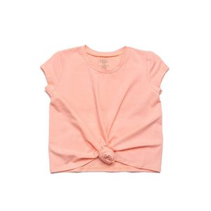 Girls Coral Rebecca Knot Tee