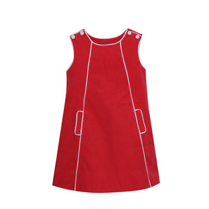 Red Cord Precious Pocket Jumper