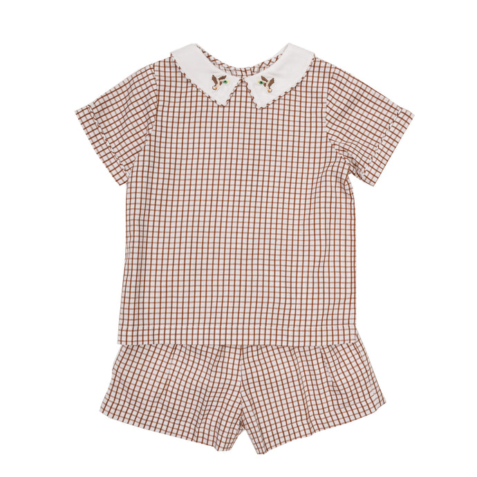 Toddler Sawyer Short Set