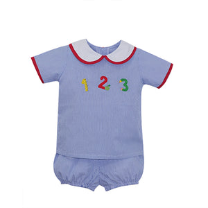 Infant Boy Sibley School Bloomer Set