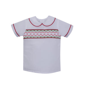 Sibley Smocked Shirt