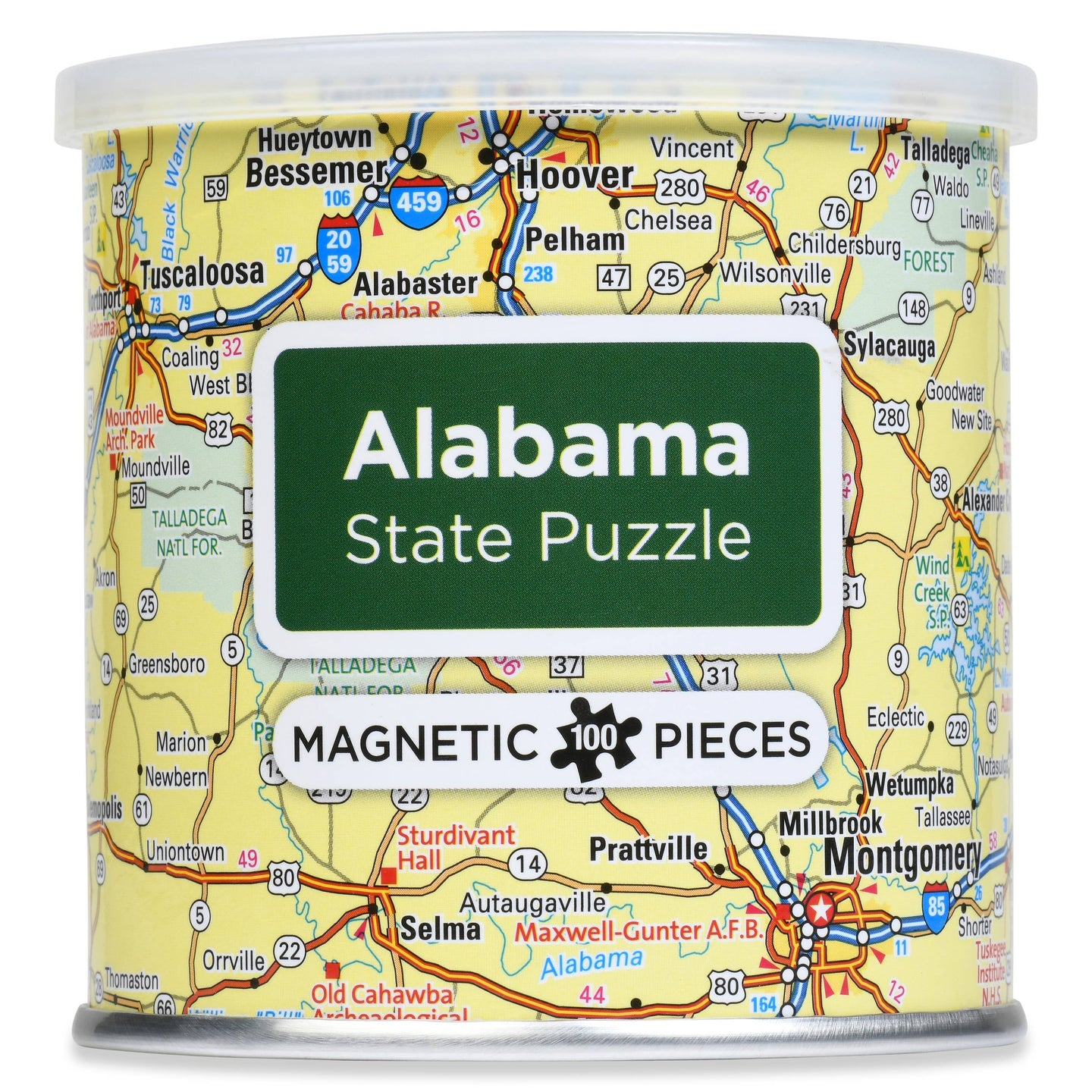 Magnetic Puzzle Alabama