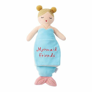 Blue Mermaid Plush Book