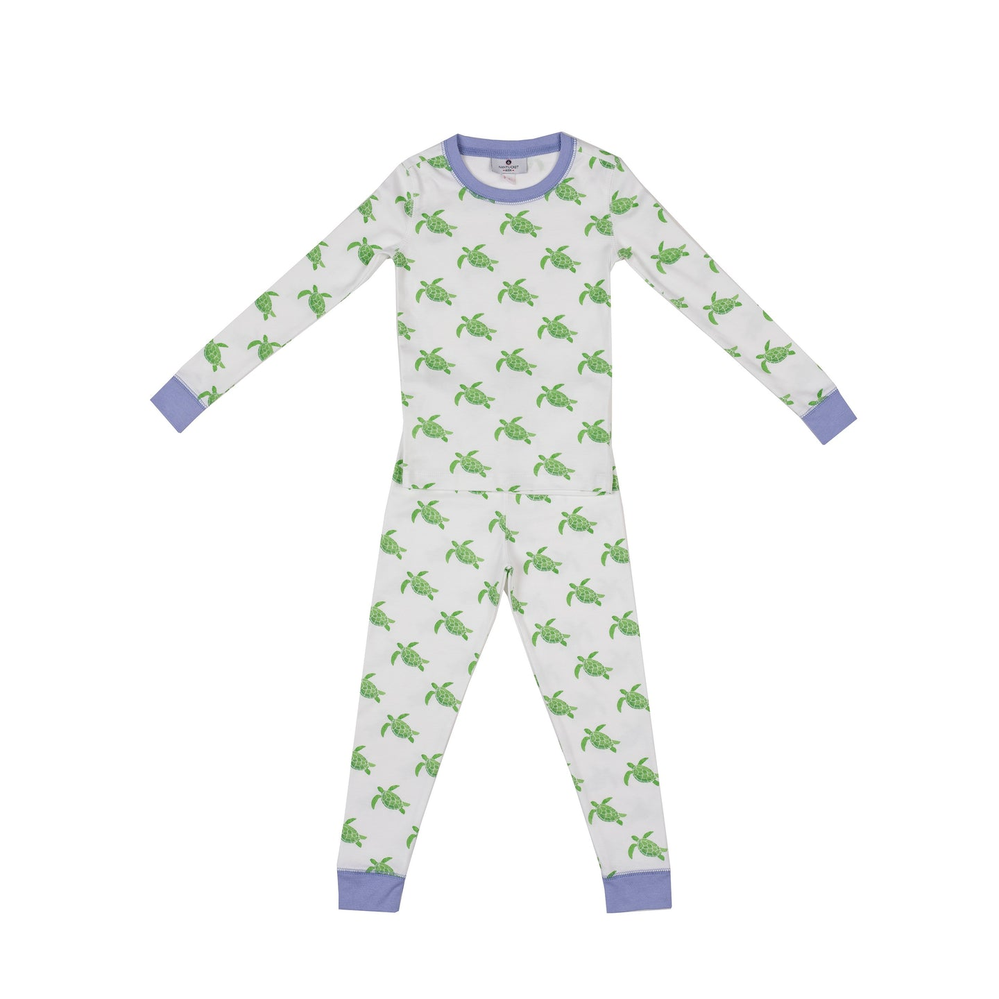 Blue Sea Turtle Pima Pajama